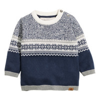 H&M Jacquard-knit Sweater $14.99