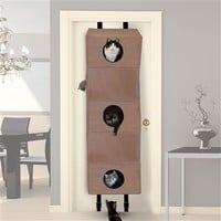 SheilaShrubs.com: Hangin' Cat Condo Large Tan KH3210 by K&H Manufacturing : Pet Furniture & Equipment