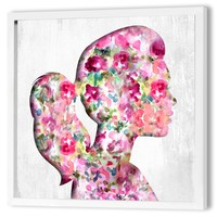 """""""Portait of a Lady"""" Dimensional Art Framed Print"""