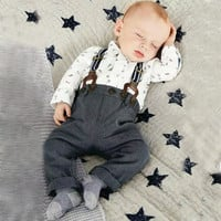 Adorable 2 Piece Baby Boy Outfit