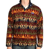 Tailgater Fleece Pullover in Sioux Red and Brown by Blankenship Dry Goods - FINAL SALE