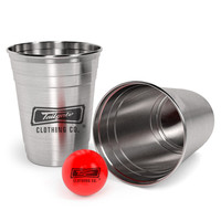 CUSTOM - DESIGN YOUR OWN 12 PC or 24 PC BEER PONG SET