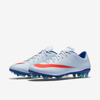The Nike Mercurial Veloce II Women's Firm-Ground Soccer Cleat.