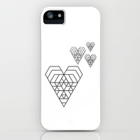 Hex heart iPhone & iPod Case by dani