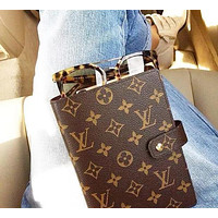 Onewel LV Louis Vuitton Hot Sale Fashionable Boys Girls Chic Notebook Portable Hand Book