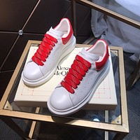 Alexander mcqueen  Woman's Men's 2020 New Fashion Casual Shoes Sneaker Sport Running Shoes0327qh