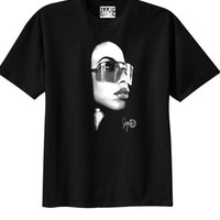 Aaliyah sunglasses tee | Duck Sick Tees
