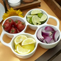 Great White Condiment Set | Pottery Barn
