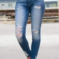 Sammie Distressed KanCan Jeans