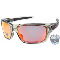 mieniwe? Cheap Oakley Turbine Sunglasses OO9263-10 Grey Ink | Ruby Iridium Polarized Lens | NIB