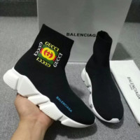 Stylish BALENCIAGA Bees Shoes Boots