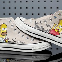 The Simpsons x Converse Chuck 70 Hi 162053C