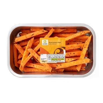 Ocado Sweet Potato Chips in a Herb Oil at Ocado