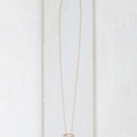 Fan Out Dainty Charm Necklace