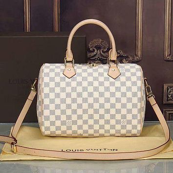 LV Louis Vuitton fashion classic printed letters ladies shopping handbag shoulder bag messenger bag