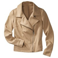 Mossimo® Petites Moto Jacket - Assorted Colors