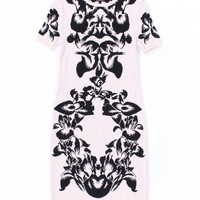Pink/Black Jacquard Dress by McQ by Alexander McQueen - ShopKitson.com