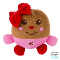 Martha Stewart Pets® Gingerbread Holiday Dog Toy - Squeaker (CHARACTER VARIES) | Toys | PetSmart