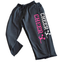Cheer Charcoal Sweatpant with pocket