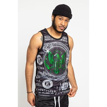 Iridescent Money Tank Top