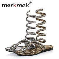 Crystal Gladiator Sandals for Cosplay Fun Macchar Cosplay Catalogue