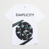 Simplicity II T-Shirt in White