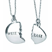 East and West Egg: Silver necklace