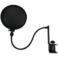 Nady SPF-1 Microphone Pop Filter +Boom & Stand Clamp - Black