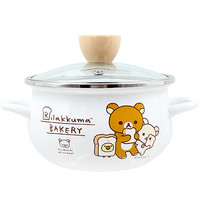 Buy San-X Rilakkuma Bakery Trio Toast Two-Handled Cooking Pot with Lid at ARTBOX
