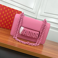 DIOR WOMEN'S LEATHER J'ADIOR INCLINED CHAIN SHOULDER BAG