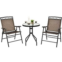 Relaxing Patio Bistro Dining Set