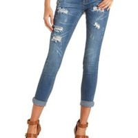 Cropped, Cuffed & Ripped Skinny Jeans