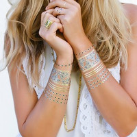Lulu DK Temporary Jewelry Tattoos - Indigo