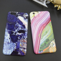 Tie-dyed Marble Stone iPhone 7 7 Plus & iPhone 6 6s Plus & iPhone 5s se Case Personal Tailor Cover + Gift Box-486
