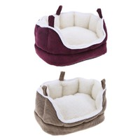 Washable Nest Pet Sofa Guinea Pig Warm Bed