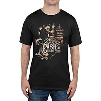 Johnny Cash - Johnny At Folsom Prison T-Shirt