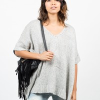 Thick Knit Sweater Tee