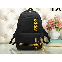 ADIDAS 2018 new fashion men and women with the same trend shoulder bag backpack F-LLBPFSH Yellow