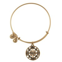Alex and Ani Compass Charm Bangle - Russian Gold