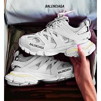 Onewel Balenciaga Sneaker Tess.s.Gomma MAILLE Cross cutout design White