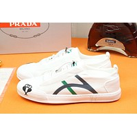 prada men fashion boots fashionable casual leather breathable sneakers running shoes 27