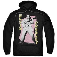 Elvis Presley Hoodie In The Moment Black Hoody