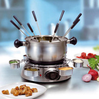 Tristar FO1100 Stainless Steel Fondue Set