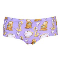 Beauty And The Beast Cheeky Boypants - Lingerie - Clothing