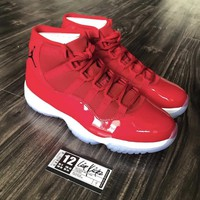 DCCK AIR JORDAN 11 GYM RED MEN SIZES