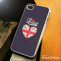 London England iPhone 4 5 5c 6 Plus Case, Samsung Galaxy S3 S4 S5 Note 3 4 Case, iPod 4 5 Case, HtC One M7 M8 and Nexus Case