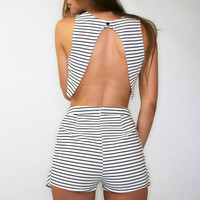 Striped Crop Top | Disruptive Youth