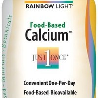 Rainbow Light, Food-Based Calcium, 180 Count (Pack of 2)