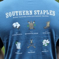 Southern Staples in Navy by Southern Proper