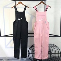Nike Hot Sale 2017 Fashion Women Casual Overalls Jumpsuit(2-Color)